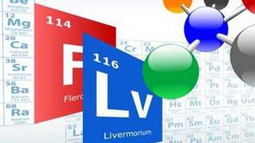 Gli elementi 114 e 116 hanno un nome: Flerovium e Livermorium