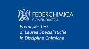 Premi per le migliori Tesi di Laurea in Discipline Chimiche
