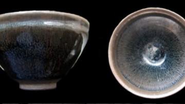 Un raro ossido di ferro nelle millenarie tazze cinesi