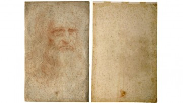 L'Autoritratto di Leonardo si sta ossidando