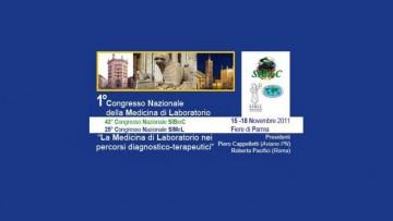 1° Congresso Nazionale della Medicina di laboratorio
