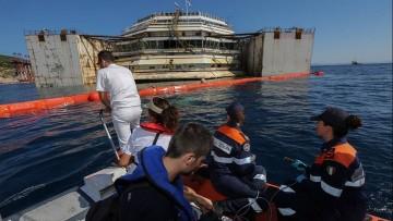 La qualita' delle acque intorno alla Costa Concordia: i primi dati