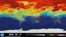 Come circola la CO2 in atmosfera? Lo mostra il super-modello Nasa