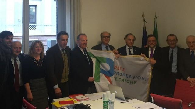 Una sede a Roma per la Rete delle professioni tecniche