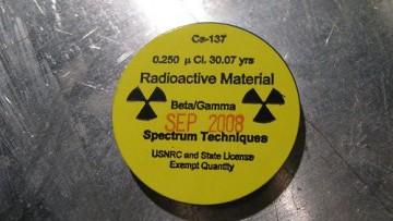 Scoperta la trappola per il cesio radioattivo