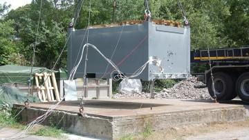 Stoccaggio di materiali radioattivi: arrivano nuovi contenitori