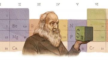 Buon compleanno Mendeleev: Google celebra il 'padre' della tavola periodica