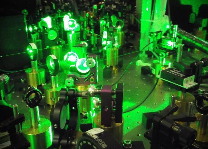 Fasci laser impiegati per l'intrappolamento e la manipolazione dei campioni atomici ultrafreddi